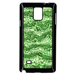 Alien Skin Green Samsung Galaxy Note 4 Case (black)