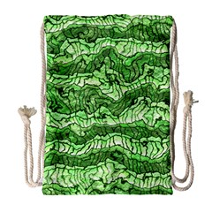 Alien Skin Green Drawstring Bag (Large)