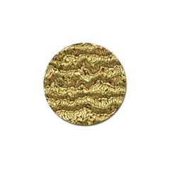 Alien Skin Hot Golden Golf Ball Marker