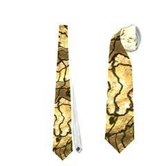 Alien Skin Hot Golden Neckties (one Side)