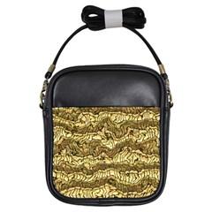 Alien Skin Hot Golden Girls Sling Bags