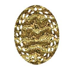 Alien Skin Hot Golden Ornament (Oval Filigree)