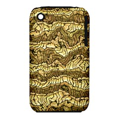 Alien Skin Hot Golden Apple iPhone 3G/3GS Hardshell Case (PC+Silicone)