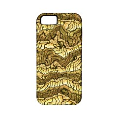 Alien Skin Hot Golden Apple iPhone 5 Classic Hardshell Case (PC+Silicone)