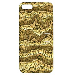 Alien Skin Hot Golden Apple iPhone 5 Hardshell Case with Stand