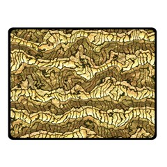 Alien Skin Hot Golden Double Sided Fleece Blanket (Small)