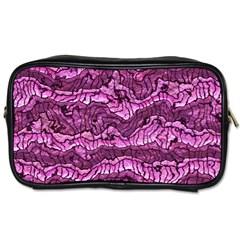 Alien Skin Hot Pink Toiletries Bags