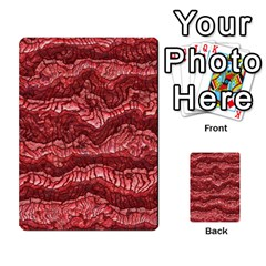 Alien Skin Red Multi Purpose Cards (rectangle)