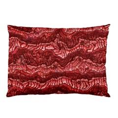 Alien Skin Red Pillow Cases