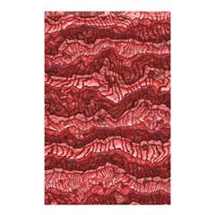 Alien Skin Red Shower Curtain 48  X 72  (small)
