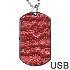 Alien Skin Red Dog Tag USB Flash (Two Sides)