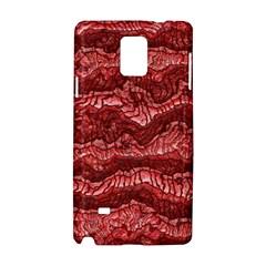 Alien Skin Red Samsung Galaxy Note 4 Hardshell Case