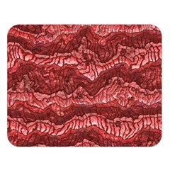 Alien Skin Red Double Sided Flano Blanket (large)