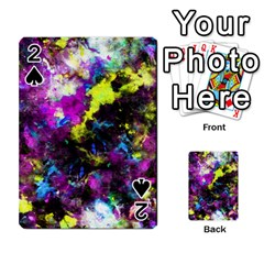 Colour Splash G264 Playing Cards 54 Designs