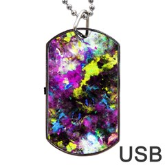Colour Splash G264 Dog Tag USB Flash (One Side)