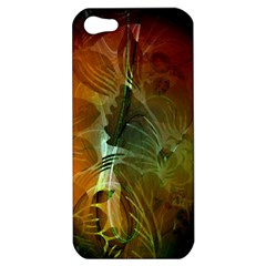 Beautiful Abstract Floral Design Apple iPhone 5 Hardshell Case