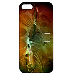 Beautiful Abstract Floral Design Apple iPhone 5 Hardshell Case with Stand