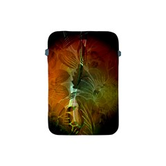 Beautiful Abstract Floral Design Apple iPad Mini Protective Soft Cases