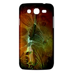 Beautiful Abstract Floral Design Samsung Galaxy Mega 5.8 I9152 Hardshell Case