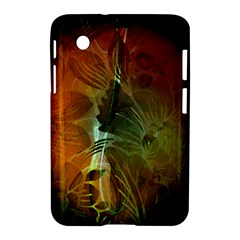 Beautiful Abstract Floral Design Samsung Galaxy Tab 2 (7 ) P3100 Hardshell Case