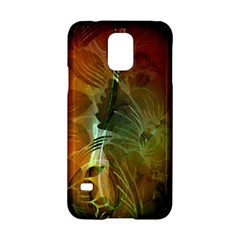 Beautiful Abstract Floral Design Samsung Galaxy S5 Hardshell Case