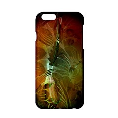 Beautiful Abstract Floral Design Apple iPhone 6/6S Hardshell Case