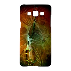 Beautiful Abstract Floral Design Samsung Galaxy A5 Hardshell Case