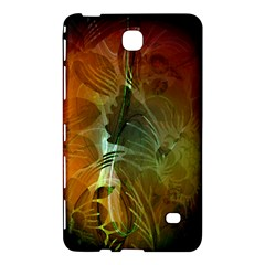 Beautiful Abstract Floral Design Samsung Galaxy Tab 4 (7 ) Hardshell Case