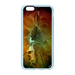 Beautiful Abstract Floral Design Apple Seamless iPhone 6/6S Case (Color)