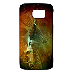 Beautiful Abstract Floral Design Galaxy S6