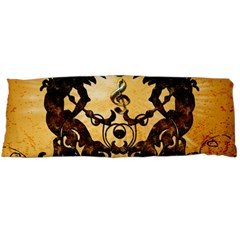 Clef With Awesome Figurative And Floral Elements Body Pillow Cases (Dakimakura)