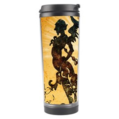 Clef With Awesome Figurative And Floral Elements Travel Tumblers