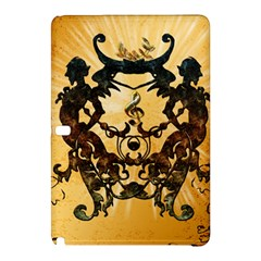 Clef With Awesome Figurative And Floral Elements Samsung Galaxy Tab Pro 12.2 Hardshell Case