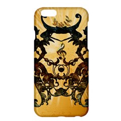 Clef With Awesome Figurative And Floral Elements Apple iPhone 6 Plus/6S Plus Hardshell Case