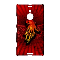 Lion With Flame And Wings In Yellow And Red Nokia Lumia 1520