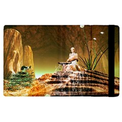 Wonderful Undergraund World Apple iPad 3/4 Flip Case