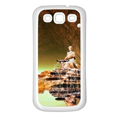 Wonderful Undergraund World Samsung Galaxy S3 Back Case (White)