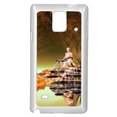 Wonderful Undergraund World Samsung Galaxy Note 4 Case (White)