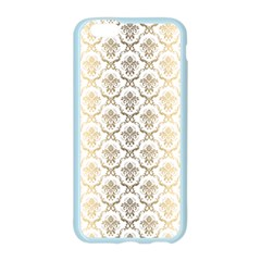 Gold tones vintage floral damasks pattern Apple Seamless iPhone 6/6S Case (Color)