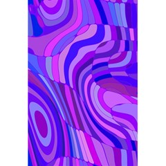 Retro Abstract Blue Pink 5 5  X 8 5  Notebooks