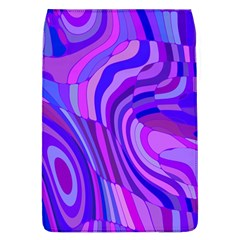 Retro Abstract Blue Pink Flap Covers (L)