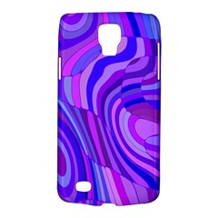Retro Abstract Blue Pink Galaxy S4 Active