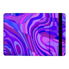 Retro Abstract Blue Pink Samsung Galaxy Tab Pro 10.1  Flip Case