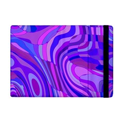 Retro Abstract Blue Pink iPad Mini 2 Flip Cases