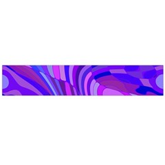 Retro Abstract Blue Pink Flano Scarf (large)