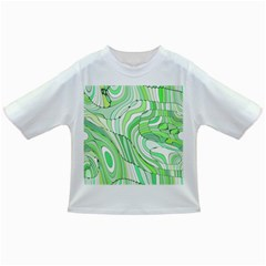 Retro Abstract Green Infant/Toddler T-Shirts
