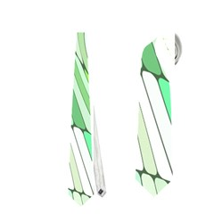 Retro Abstract Green Neckties (One Side)