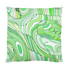 Retro Abstract Green Standard Cushion Case (One Side)