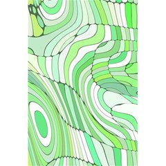 Retro Abstract Green 5 5  X 8 5  Notebooks