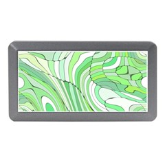 Retro Abstract Green Memory Card Reader (Mini)